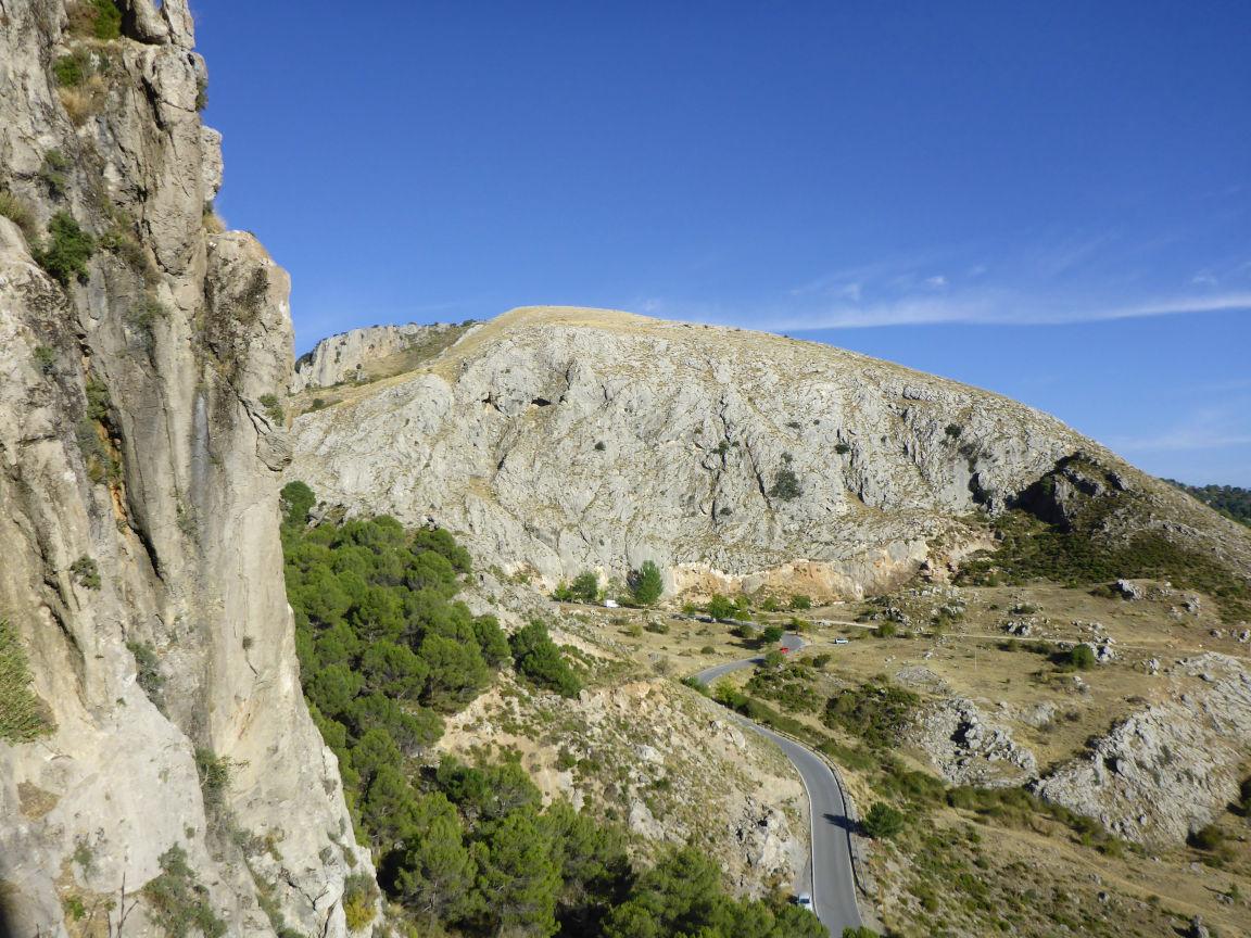 Climbing sector Granada - Alfacar