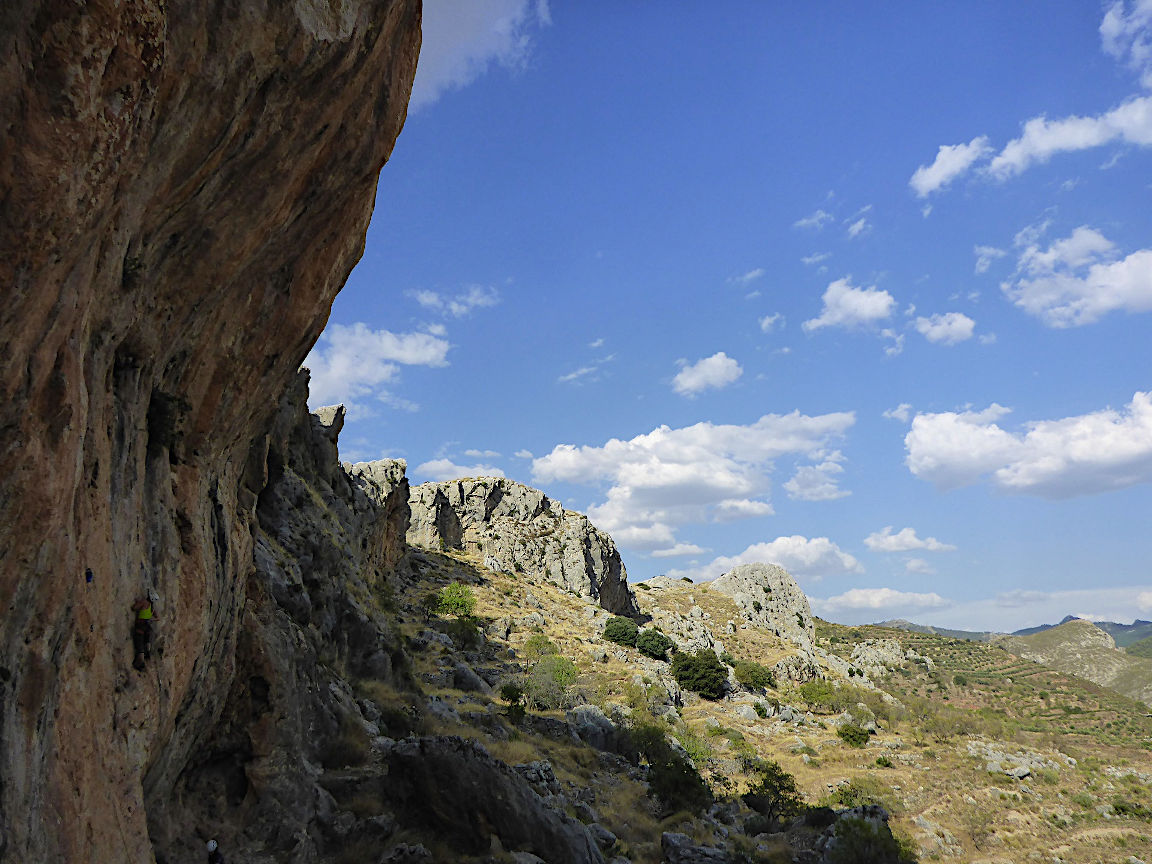 Climbing sector Granada - Cogollos