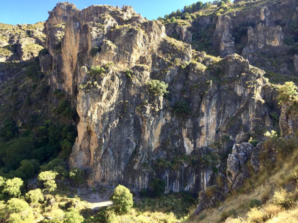 Climbing sector Granada - Los Cahorros