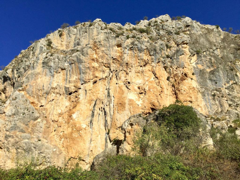 Climbing sector Granada - Moclin