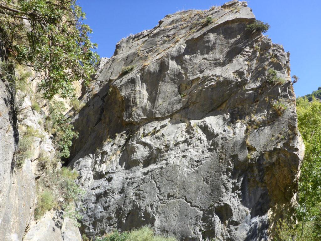 Climbing sector Granada - Nigüelas