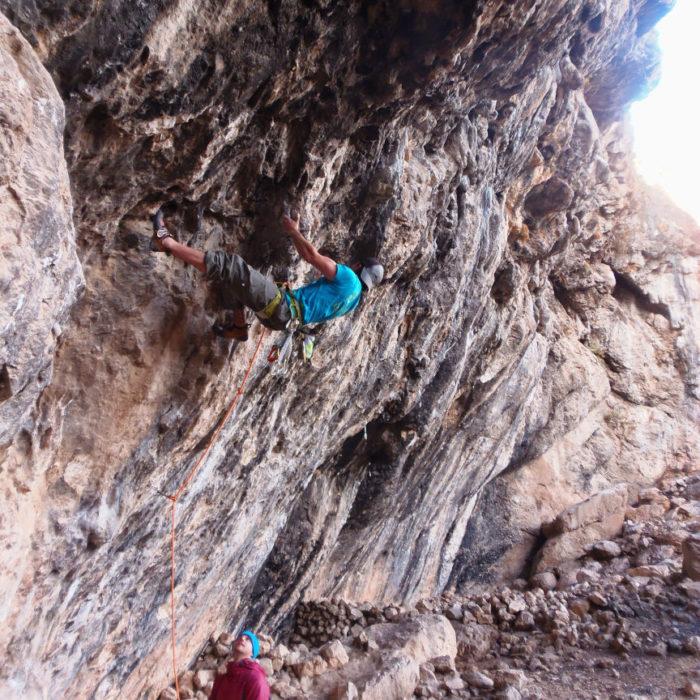 Climbing sector Granada - Poloria
