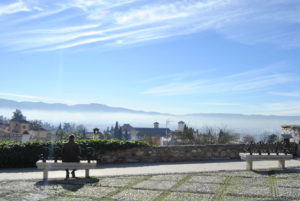 Solana de Granada - Climbing and outdoor hostel: Granada view