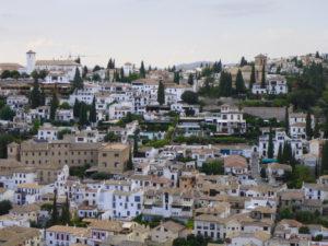 Solana de Granada - Climbing and outdoor hostel: Albaicin view