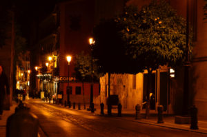 Solana de Granada - Climbing and outdoor hostel: Granada at night