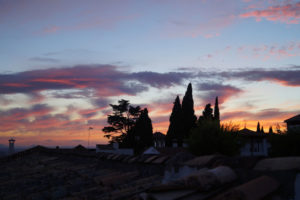 Solana de Granada - Climbing and outdoor hostel: Granada sunset