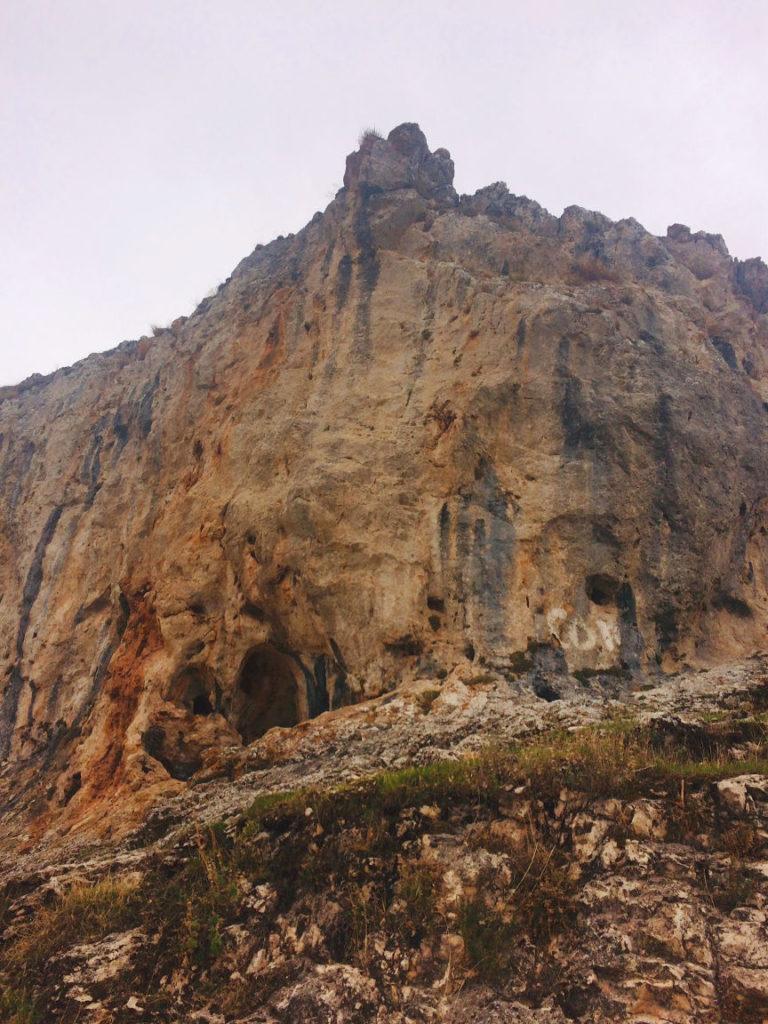 Climbing sector Granada - Loja