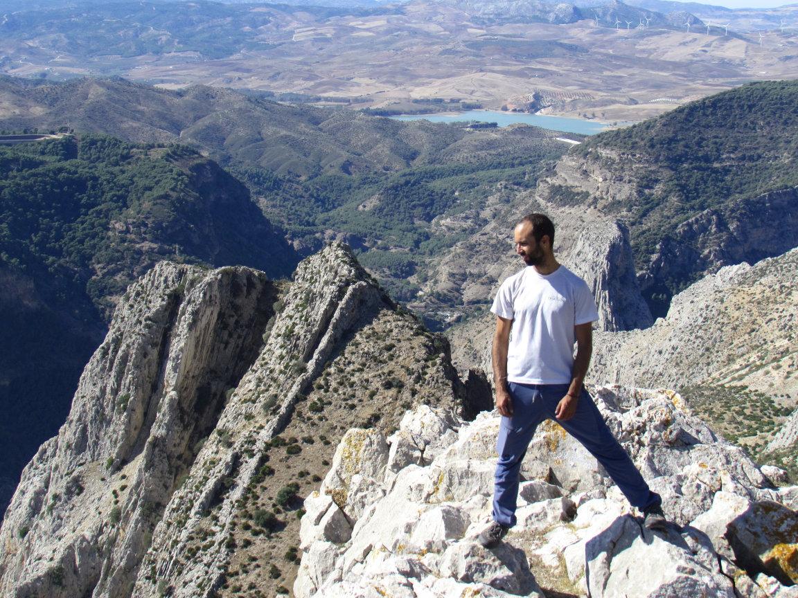 Marco- Mountain guide, climbing guide, canyoning guide