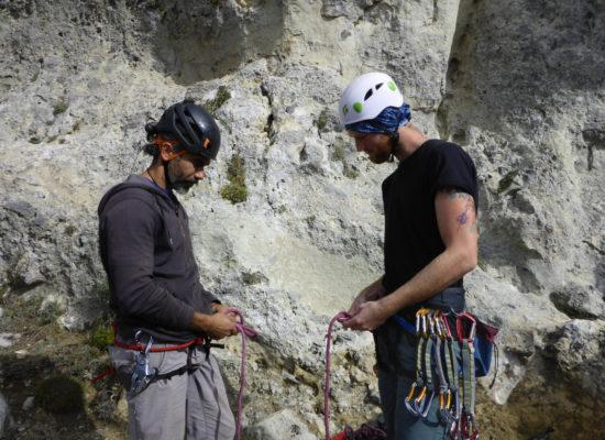 Climbing course beginner