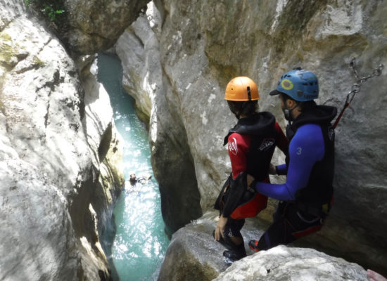 Guide Tobi canyoning
