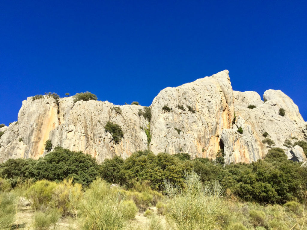 Climbing sector Granada - Peña Cabrera/Naranjito