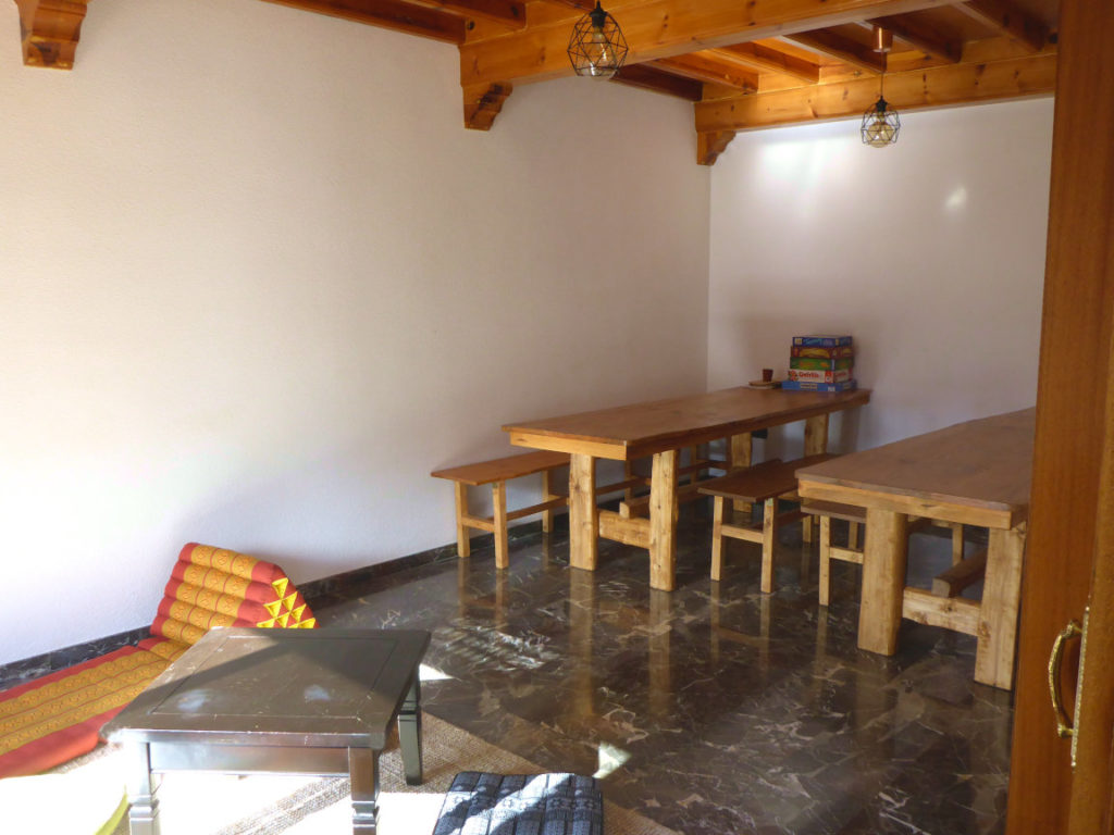 Solana de Granada - Climbing and outdoor hostel: community room