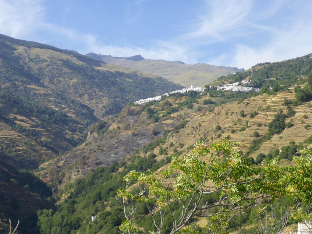 Climbing sector Granada - Capileira